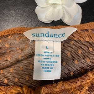 Sundance Tops - Sundance Romancing the Day Boho Top Large